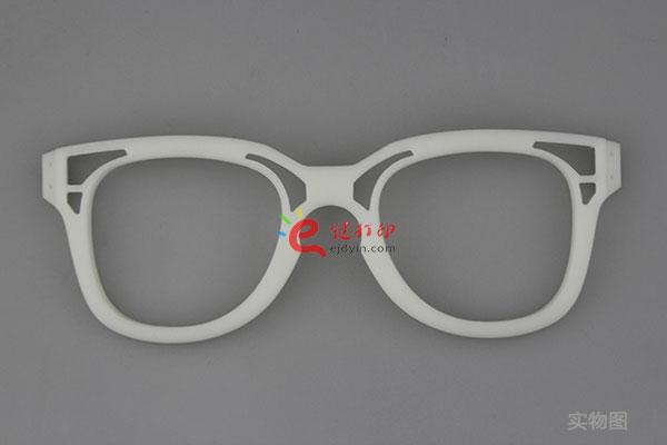 e键打印平台的3d打印眼镜案例