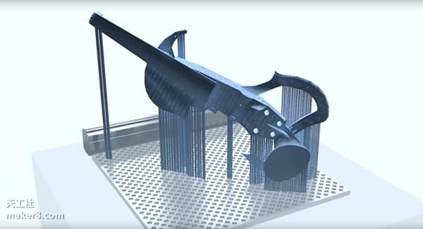 玩的就是效果 全3D打印小提琴即将众筹 3d打印小提琴,3D打印一体成型,3D打印多少钱,3D打印机报价,3D打印服务,3D打印技术