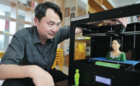 3D打印全彩人像过程揭密?3d打印人像扫描建模到后期处理流程